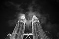 Petronas twins towers Royalty Free Stock Photo