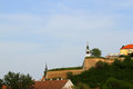 Petrovaradin fortress in novi sad serbia Stock Photography