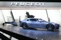 Peugeot exalt concept car at paris motor show on october th Stock Photo