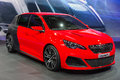 Peugeot 308 R Royalty Free Stock Photo