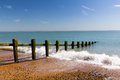 Pevensey Bay Royalty Free Stock Photo