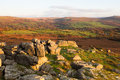 Pew tor views view from dartmoor national park devon uk Royalty Free Stock Photography