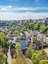 Pfaffenthal au luxembourg Photo stock