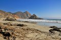 Pfeiffer beach in big sur california usa Royalty Free Stock Images