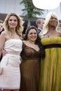 Pfeiffer, Blonsky, and Latifah Royalty Free Stock Photo