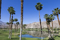 Pga west golf course palm springs california in la quinta usa Royalty Free Stock Photography