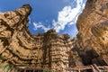 Phachor the canyon of Chiangmai Royalty Free Stock Photo