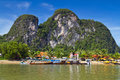 Phang Nga Bay trip in Thailand Royalty Free Stock Photos