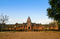 Phanom rung historical park name prasat hin or prasat phnom rong in khmer is a khmer temple complex set on the rim of an extinct Stock Photo
