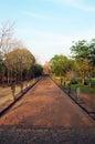 Phanom rung stone castle ruin of buriram thailand thai พนมรุ้ง or with its full name prasat hin thai Stock Image
