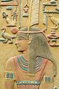 Pharaoh, Egyptian background Royalty Free Stock Images
