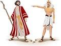 Faraón envía Moisés de