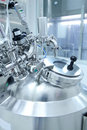 Pharmaceutical Laboratory equipment Royalty Free Stock Photo