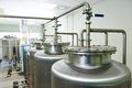 Pharmaceutical water treatment system Royalty Free Stock Photo