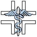 Pharmacy cross vector