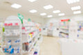 Pharmacy or drugstore room background Royalty Free Stock Photo