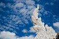 Phaya nak statue of wat phra thart jom khitti Stock Photos