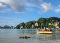 Phi phi island in thailand is taken Stock Images