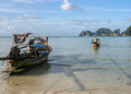 Phi phi island in thailand is taken Royalty Free Stock Images