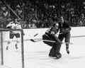 Phil Esposito and Ken Dryden. Royalty Free Stock Photo