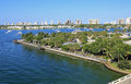 Phil foster park in riviera beach florida near singer island Royalty Free Stock Photography
