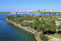 Phil foster park in riviera beach florida near singer island Royalty Free Stock Photos