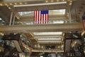 Philadelphia,August 4th:Historic Building Bourse Mall interior from Philadelphia in Pennsylvania Royalty Free Stock Photo