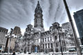 Philadelphia City Hall Royalty Free Stock Photo