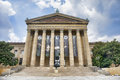 Philadelphia Museum of Art Entrance Royalty Free Stock Photo