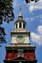 Philadelphia, PA: Historic Independence Hall Royalty Free Stock Photo