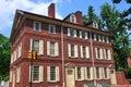 Philadelphia, PA: Historic 18th Century Todd House Royalty Free Stock Photo