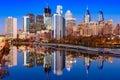 Philadelphia Pennsylvania Skyline Royalty Free Stock Photo
