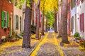 Philadelphia, Pennsylvania, USA Autumn Royalty Free Stock Photo