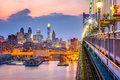 Philadelphia Pennsylvania Skyline Royalty Free Stock Photo