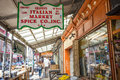 Philadelphia s italian market may on may the is the oldest working outdoor in the united states Royalty Free Stock Images