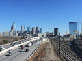 Philadelphia Skyline Royalty Free Stock Photo