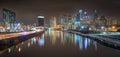 Philadelphia Skyline At Night