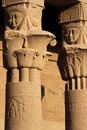 Philae temple details Royalty Free Stock Photography