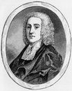 Philip doddridge the rev d d nonconformist divine and hymn writer engraving from selections from the journal of john wesley Stock Images