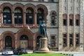 Philip John Schuyler Monument, Albany, NY, USA Royalty Free Stock Photo