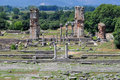 Philippi archaeological site, Greece Europe Royalty Free Stock Image