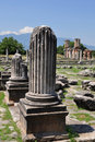 Philippi archaeological site, Greece Europe Royalty Free Stock Photography