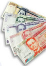 Philippine Peso Bills Royalty Free Stock Photography