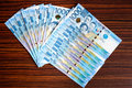 Philippines bank notes Royalty Free Stock Photo