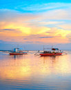 Philippines boats Royalty Free Stock Image