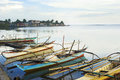 Philippines fishermans boats Stock Photos