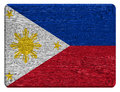 Philippines flag Royalty Free Stock Photo