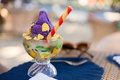 Philippines mixed ice or Halo halo Royalty Free Stock Photo