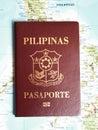 Philippines passport Royalty Free Stock Photo