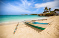 Philippines traditional fishing boat Royalty Free Stock Photo